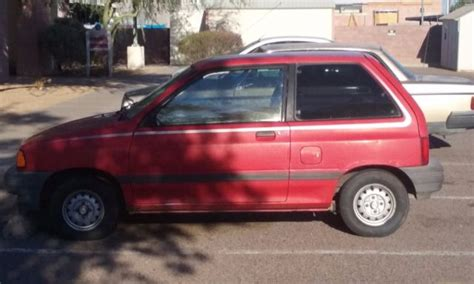 automotive repair manual 1988 ford festiva seat position control service manual old car owners manuals 1990 ford festiva electronic valve timing old car
