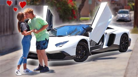 jake paul lamborghini my wife got me my dream car insane surprise youtube