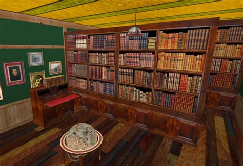double sided bookcase room divider second life marketplace double sided bookcase room divider