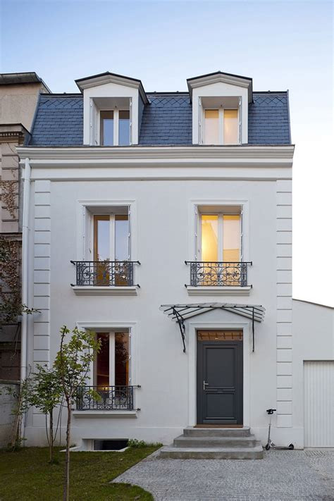 typical french home traditional french house in vincennes gets a sparkling