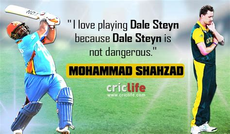 how to swing the ball like dale steyn afghanistan batsman mohammad shahzad does not find dale