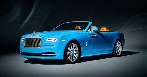 rolls royce light blue bespoke motor cars