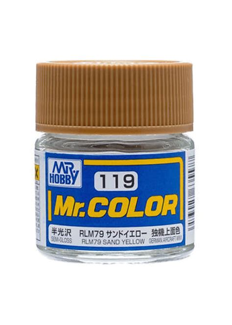 mr hobby mr color acrylic paint c119 rlm79 sand yellow model sports all radio s motor s