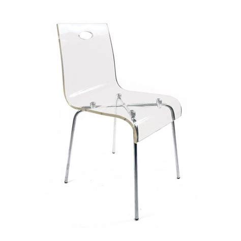 chaise en plexiglas chaise design en plexiglas transparent achat