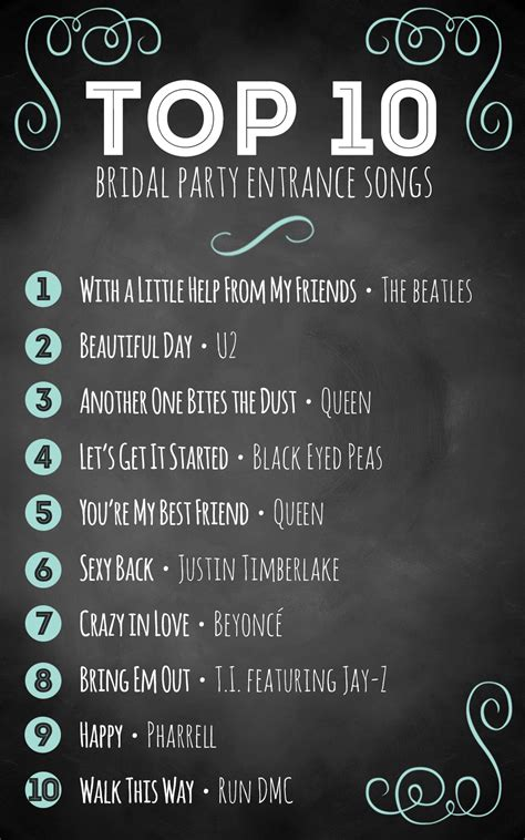 best song top 10 bridal entrance songs