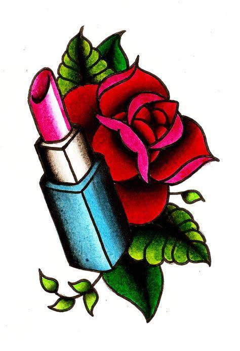 lipstick tattoo designs lipstick designsdenenasvalencia