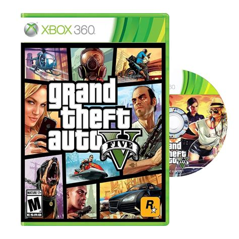 Grand Theft Auto 5 Xbox 360 by Grand Theft Auto 5 V Gta 5 Xbox 360 Fisico Dvd Original