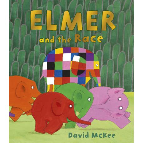 elmer and the race english wooks