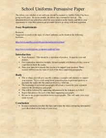 Persuasive Essays On School Uniforms by Help Writing A Persuasive Essay School Uniforms