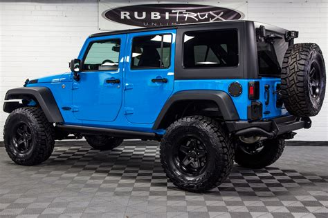 blue rubicon jeep 2017 jeep wrangler rubicon unlimited chief blue vehicles