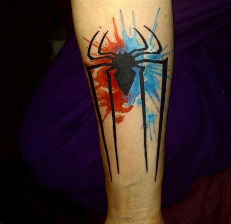 spiderman tattoo best 25 ideas on
