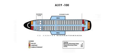 a319 seat map philippine airlines aircraft seatmaps airline seating