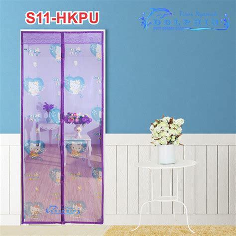 Tirai Pintu Magnet Anti Nyamuk Motif Batik 1 motif disney hello tirai pintu magnet pinguin anti nyamuk elevenia