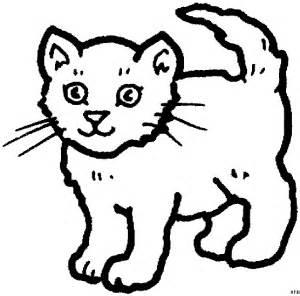 suesse stehende katze ausmalbild amp malvorlage tiere