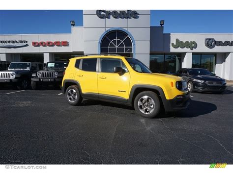 jeep yellow 2017 2017 solar yellow jeep renegade sport 117319282 photo 4