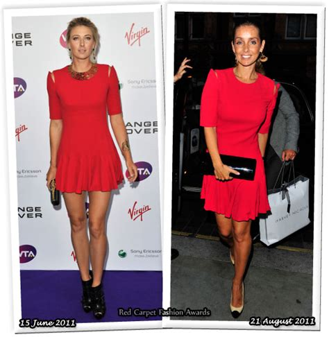 Who Wore Mcqueen Better by Who Wore Mcqueen Better Sharapova Or