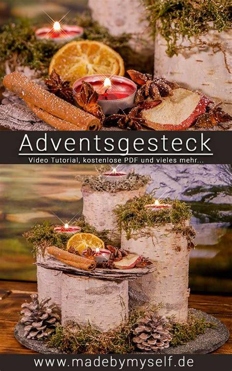 Adventsgestecke Selber Machen Anleitung by Adventsgesteck Selber Machen L 228 Nglich Made By Myself