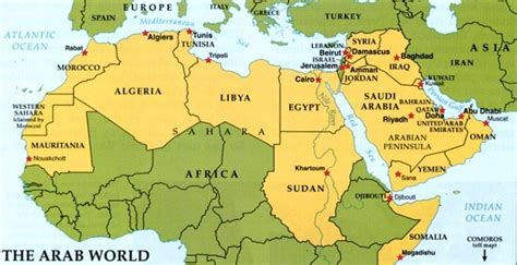 middle east map including dubai is libya part of the middle east quora