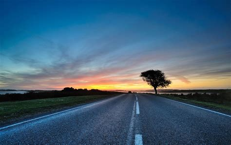 background jalan road at sunset wallpapers road at sunset stock photos
