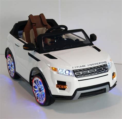 toy range rover luxury range rover style 12v kids ride on car leather seat