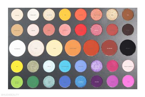 james charles palette name of shades we tried the morphe x james charles collection