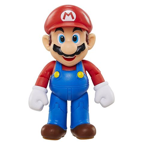 Mario Figure Isi 6 Fig 0630 mario 4 inch quot world of nintendo quot articulated figure with 163 6 41 free delivery