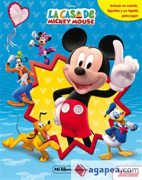 la casa de mickey la casa de mickey mouse mi libro juego agapea libros