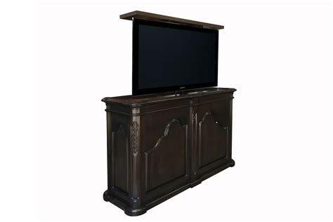 tv lift cabinet of bed flat screen tv lift cabinet end of bed cabinets matttroy