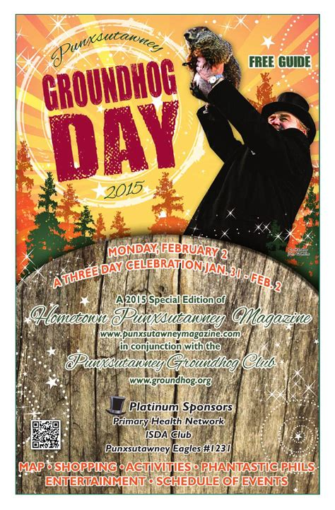 groundhog day bar groundhog edition 2015 by punxsutawney hometown magazine