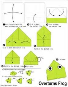 Simple Origami For Frog - bits of smith jumping frog simple jumps well