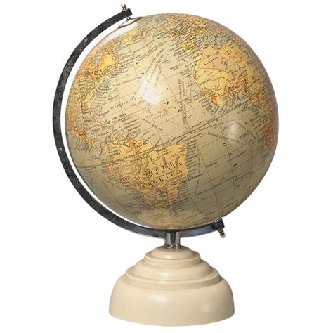 Globe Table L Globe Table L Cruncley Table Globe At 1stdibs A 1920 S 30 S 14 Quot Terrestrial Table Globe