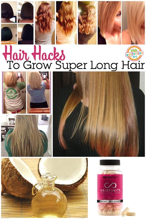15 super easy hair hacks for all us lazy girls h 229 r hair hacks to grow out your hair