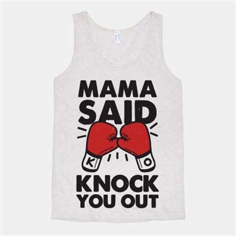 Tshirt Grace Jiu Jitsu said knock you out boxing shirt tank ll cool j