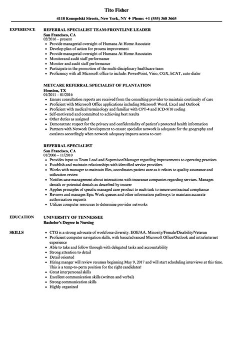 Performance Enhancement Specialist Cover Letter by Performance Enhancement Specialist Sle Resume Rental Recommendation Letter Business Report Sle