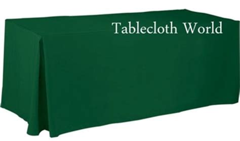 Green Forest Table Cloth 110160 tablecloths resistant fitted basic poly