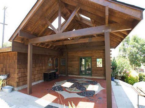 Wood patio cover ideas, homemade patio ideas diy covered