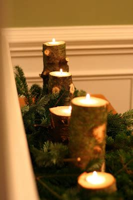 finding joy  craft recycled christmas tree stumps