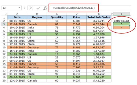 count colored cells in excel how to count colored cells in excel step by step guide