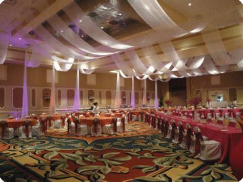 W Drapings Florida: Ceiling Drapings and Wedding Chiffon