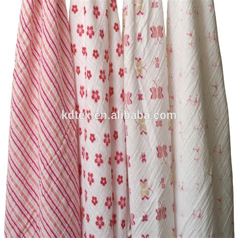 patterned muslin fabric 100 cotton printed muslin baby fabric blanket 47 quot x47