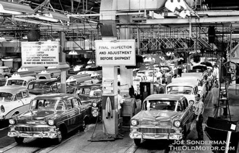 walmart plymouth ma vision center 1956 chevrolet assembly line and a futuristic gm motorama