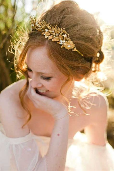 wedding up dos with a crown 25 best wedding hair accessories long hairstyles 2016 2017