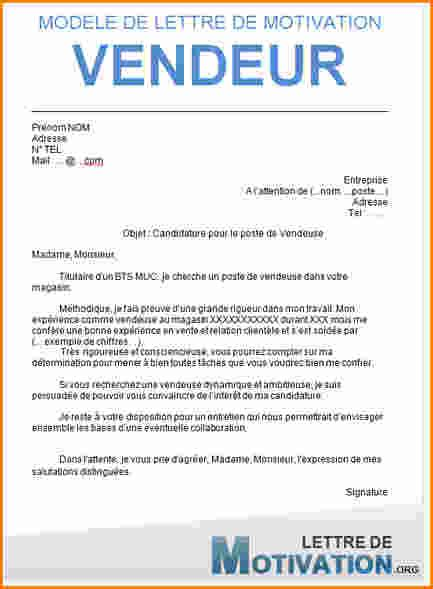 Lettre De Motivation Emploi Vente 5 Lettre De Motivation Apprentissage Vente Exemple Lettres