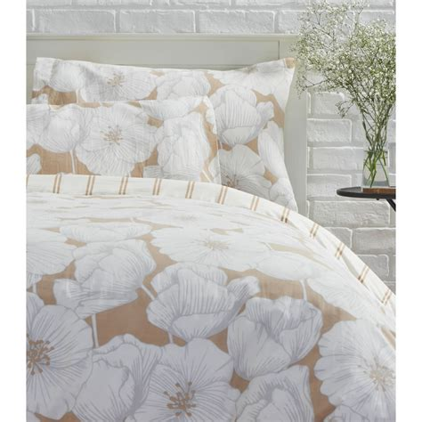 Duvet Offers wilko duvet set king floral latte deal at wilko offer calendar week