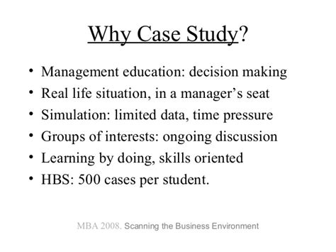 Mba Decision Study by Val Chukhlomin On Harvard Studies Mba