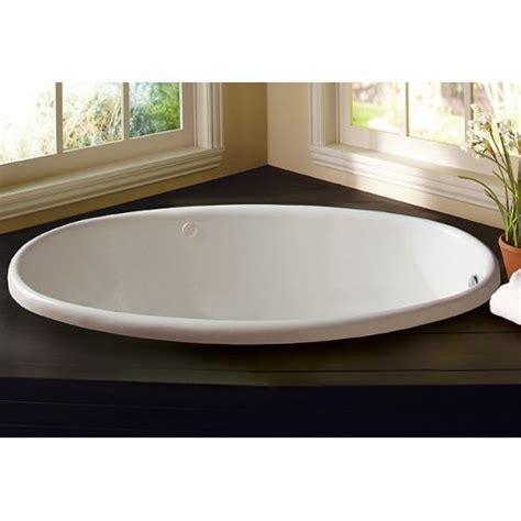 proflo bathtubs proflo pfs5838 white 58 quot x 38 quot drop in soaking bathtub