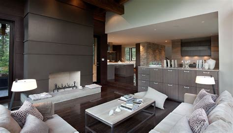 luxury house with a modern contemporary interior digsdigs