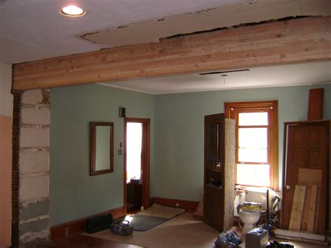 cost to remove load bearing wall large load bearing wall came out to connect the kitchen