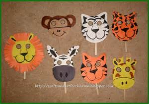 Animal Masks To Make With Paper Plates - crafts s children