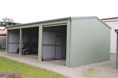 Cost To Enclose A Garage by Farm Shed With Open Bays And Enclosed Bays Fair Dinkum Sheds